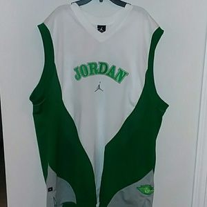Jordan's Jersey Shamrock Green Air Jordan Edition